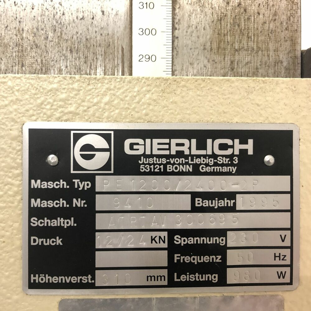 Machine label